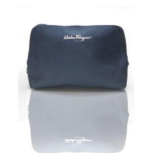 Salvatore Ferragamo Travel Case Clutch Bag 1807X
